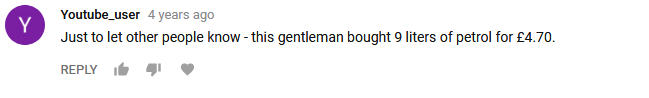 Youtube_user- Just to let other people know - this gentleman