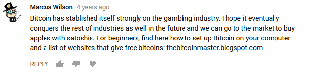 Marcus Wilson- Bitcoin has stablished itself strongly on the gambling